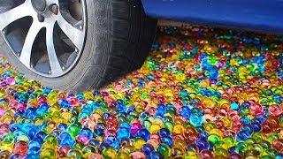 CAR VS 50,000 ORBEEZ - EXPERIMENT