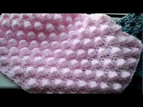 How to crochet the bobble stitch - Part 1 of 5 - Crochet Lessons