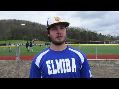 Elmira College Baseball Post-Game Interview with Andy Reed '19