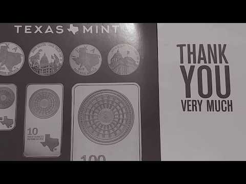 Silver Rounds Purchased at SPOT from Texas Precious Metals....