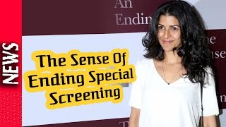 Latest Bollywood News - Special Screening Of Film The Sense Of Ending  - Bollywood Gossip 2016
