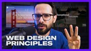 3 Principles for better Web Design: Navigation, Hierarchy \u0026 Color