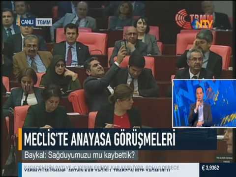 Deniz Baykal Meclis konuşması / 09 Ocak 2017