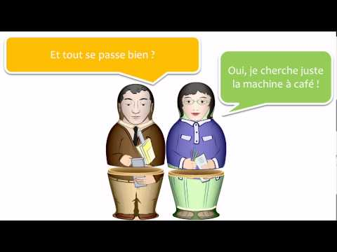 Belajar bahasa Perancis dengan dialog # 5 dialogues