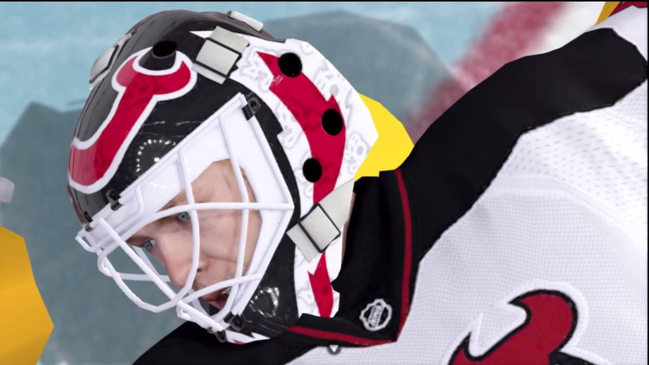 Martin Brodeur Hd Authentic Goalie Mask Youtube