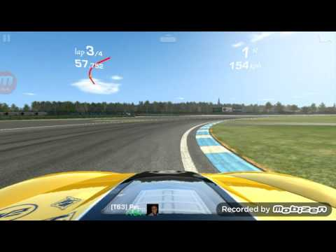 Real Racing 3: Chevy Corvette ZR1 First Race!