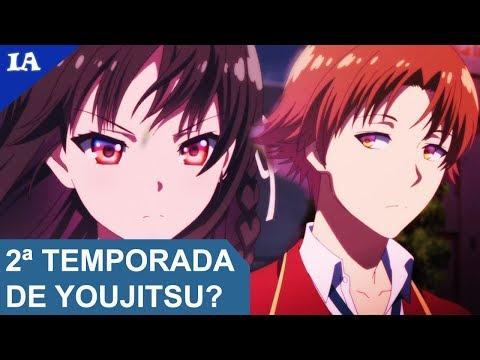 Youkoso Jitsuryoku vai ter 2ª temporada (Season 2)? | IntoxiResponde #47