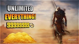 ASSASSINS CREED ORIGINS HACK!!| Unlimited Resources, Money, Xp; Undead| PC