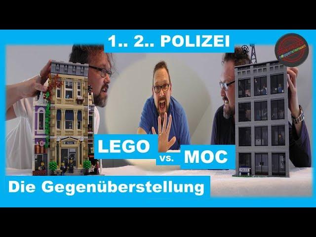 1.. 2.. POLIZEI: LEGO vs. MOC - die Gegenüberstellung