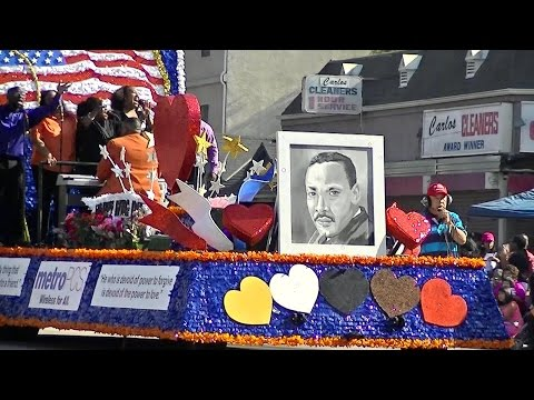 Martin Luther King Day Parade 2015: Los Angeles, California