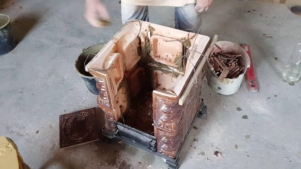 Executie soba teracota presata manual youtube for Dedeman sobe teracota cu plita