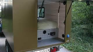 Removable camping cabin Vagabond Explorer Photos