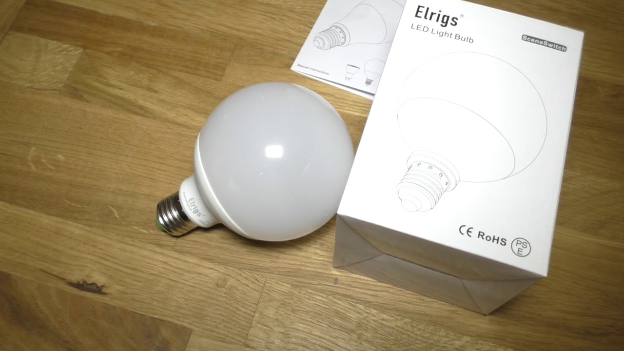 Ubrugte Review - 3 in 1 LED Lampe mit Szenenwechsel von Elrigs - YouTube NT-75