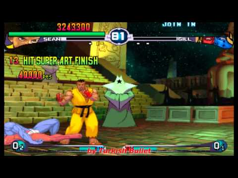 Street Fighter III: 2nd Impact - Giant Attack (Arcade) - (Longplay - Sean Matsuda | Hard Difficulty)