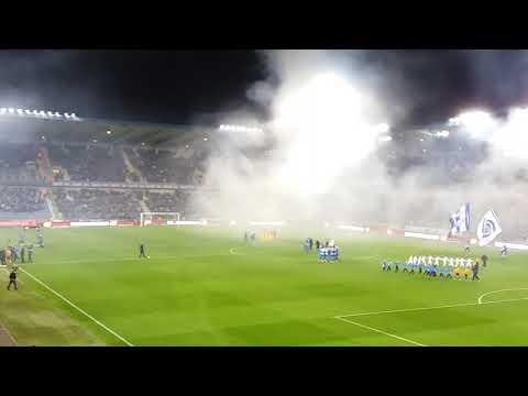 Sfeer krc genk - club brugge 25-10-2017 rookbom like this video
