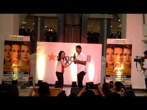 Richard Gomez And Dawn Zulueta At Starmall Alabang
