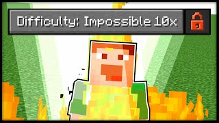 "So I made Fundy's ""Impossible"" Difficulty 10x Harder in Minecraft... [Datapack]"