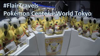 Pokemon Center, J-World Tokyo Japan - Flair Travels