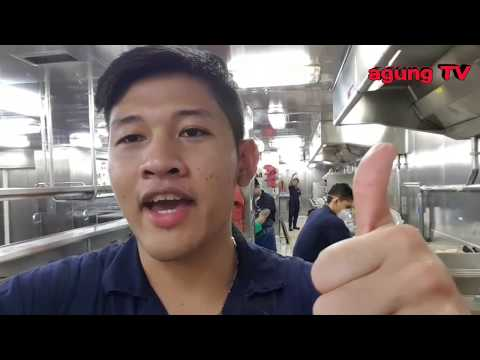 Kerja Di Kapal Pesiar? Galley Steward || Vlog Kehidupan Anak Kapal