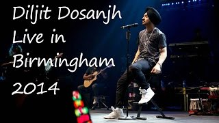 Download Hindi Video Songs - Diljit Dosanjh Live 2014 - Birmingham - Soorma[HD]