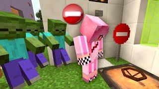 Нашла Секретный Бункер Предателей! - Зомби апокалипсис в Майнкрафт! (Minecraft - Сериал)