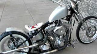 fly rite old school bobber ss power knuckle bars