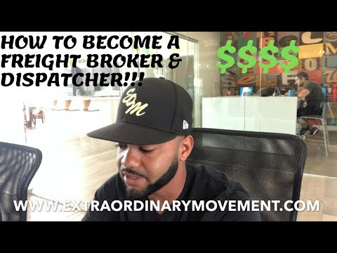 TRUCKING: HOW TO BECOME A FREIGHT BROKER OR DISPATCHER? FREEDOM AND FLEXIBILITY IN LIFE!!!