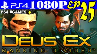 Прохождение DEUS EX: MANKIND DIVIDED ► Часть 25 на #PS4 — ТЕРРОРИСТЫ в ЛОНДОНЕ