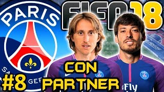 FIFA 18 PSG Modo Carrera #8 | SUPERCOPA FRANCESA | CON PARTNER