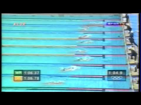Women's 100 metre Breaststroke - Olympic record - Athens 2004