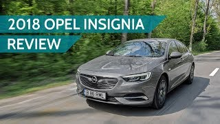 2018 Opel / Vauxhall Insignia Grand Sport AWD diesel review: mainstream family car goes upscale