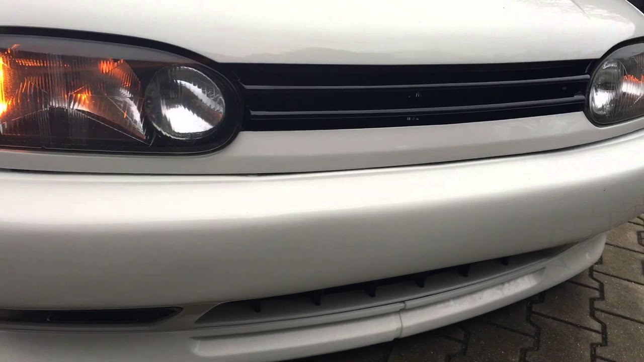 golf 3 cabrio original hella scheinwerfer mit blinker low