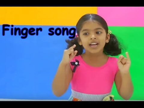 English action song  Fingers  Family fingers