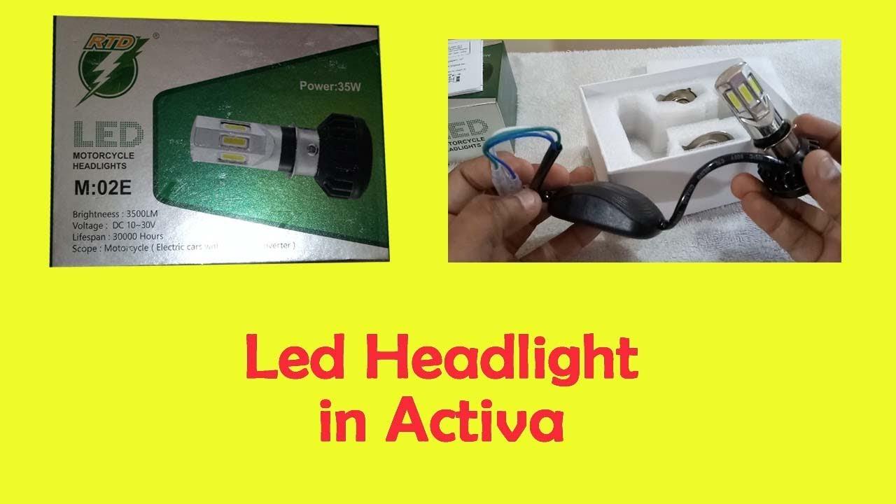 Led Headlight Rtd M02e 6 Youtube Sixled Bar Power Indicator Electronic Circuits