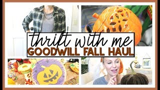 THRIFT WITH ME & GOODWILL FALL THRIFT HAUL 2019