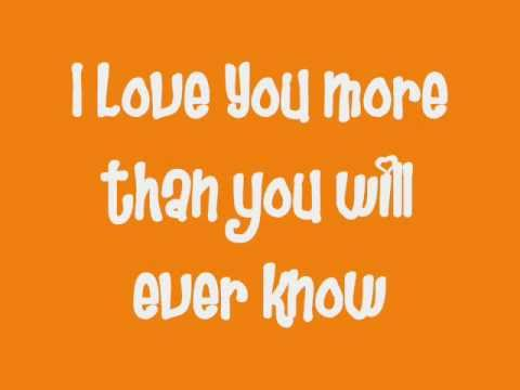 I Love You More Than You Will Ever Know by NeverShoutNever [Lyrics]