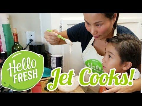 Jet Cooks HelloFresh!