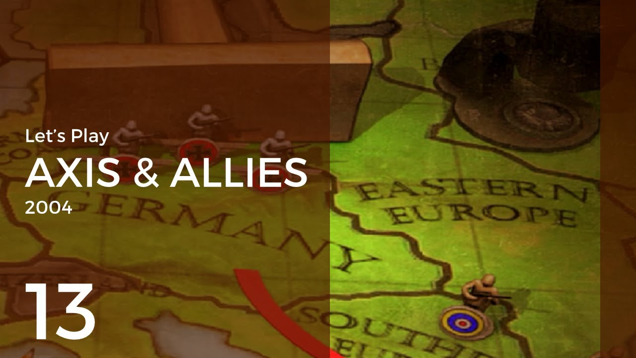 Download Let's Play Axis & Allies (2004) #13 | Axis 1: Airdrop on Crete