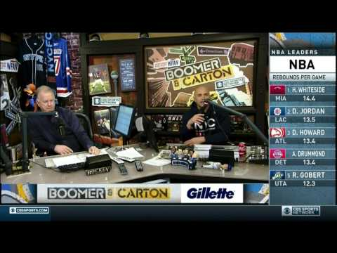Boomer and Carton - Mike Francesa interviews George Karl (confuses him with Jerry Sloan)
