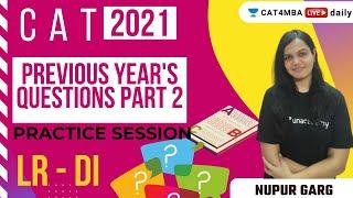 Previous year CAT Questions - Part 2 | LRDI | Unacademy CAT4MBA | CAT | Nupur Garg screenshot 5