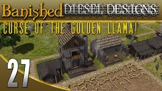 Banished Colonial Charter 1.4: EP27: Distillery & Sugar Housel! (City Building Series 60FPS)