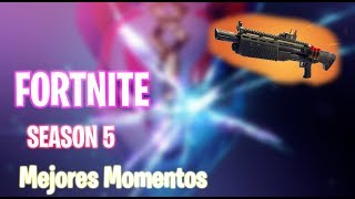 Best Moments TEMPORADA 5 | Fortnite Battle Royale | TheCoco