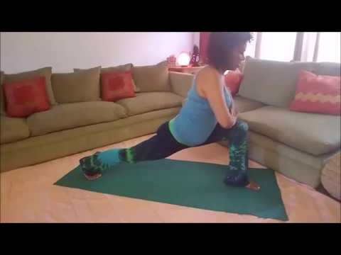 Change Your Life with Yoga Vlog 7: How to Lunge