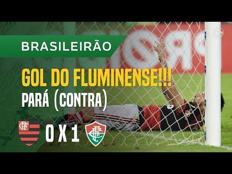 GOL CONTRA (PARÁ) - FLAMENGO X FLUMINENSE - 12/10 - BRASILEIRÃO 2017