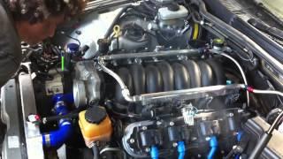 Lexus IS200 LS1 5.7L V8 Conversion First Start