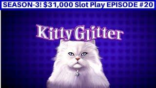 High Limit Kitty Glitter Slot & Enchanted Unicorn Slot Live Play | Season 3 | EPISODE #20