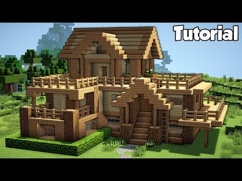 Minecraft Starter House Tutorial How To Build A In Easy You
