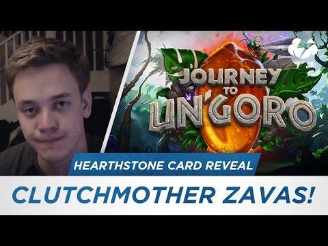 New Journey to Un'Goro Card Reveal: Clutchmother Zavas