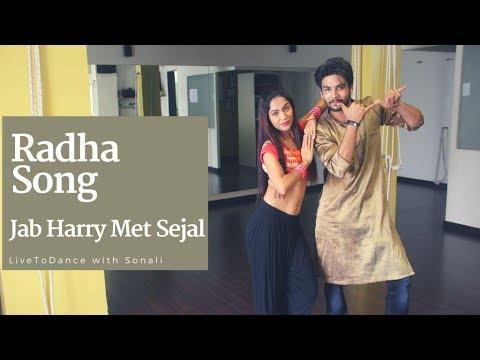 Radha Song | Jab Harry Met Sejal | #BFUNKRADHA | Bollywood Dance | LiveToDance with Sonali