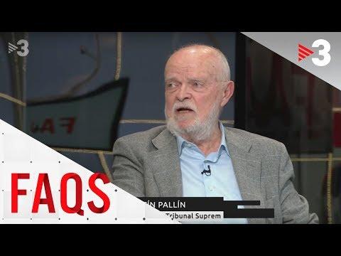 Martín Pallín: 'La sentència utilitzarà el concepte de la violència ambiental'